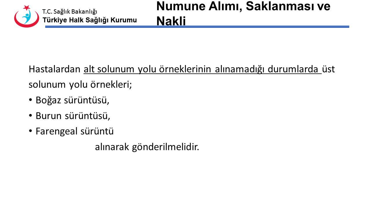 T.C. Sağlık Bakanlığı Türkiye Halk Sağlığı Kurumu T.C. Sağlık Bakanlığı Türkiye Halk Sağlığı Kurumu Örnekler Steril, vida kapaklı ve sızdırmaz kaplara