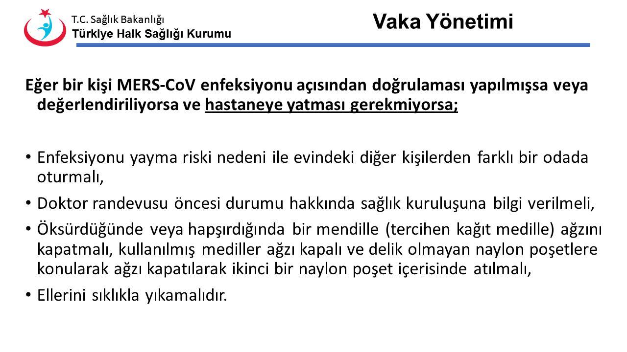 T.C. Sağlık Bakanlığı Türkiye Halk Sağlığı Kurumu T.C. Sağlık Bakanlığı Türkiye Halk Sağlığı Kurumu Hastalardan alt solunum yolu örneklerinin alınamad