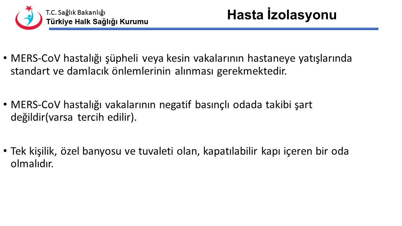 T.C. Sağlık Bakanlığı Türkiye Halk Sağlığı Kurumu T.C. Sağlık Bakanlığı Türkiye Halk Sağlığı Kurumu Kontamine malzemeler; Kan ve diğer vücut sıvıları
