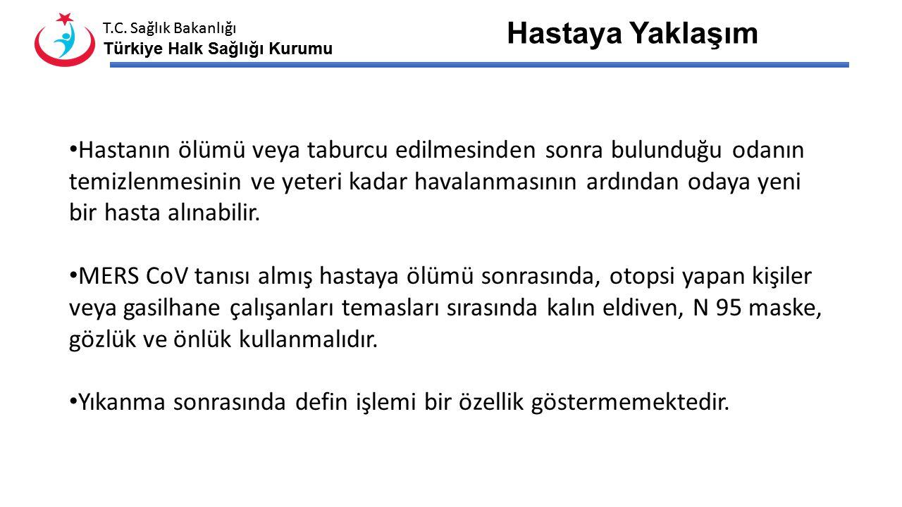 T.C. Sağlık Bakanlığı Türkiye Halk Sağlığı Kurumu T.C. Sağlık Bakanlığı Türkiye Halk Sağlığı Kurumu Hastaya temas öncesi ve sonrası el hijyenine dikka
