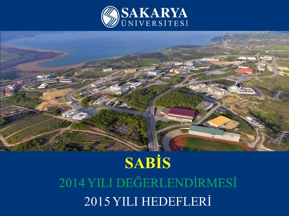 www.sakarya.edu.tr SİSTEM olarak ÜNİVERSİTE