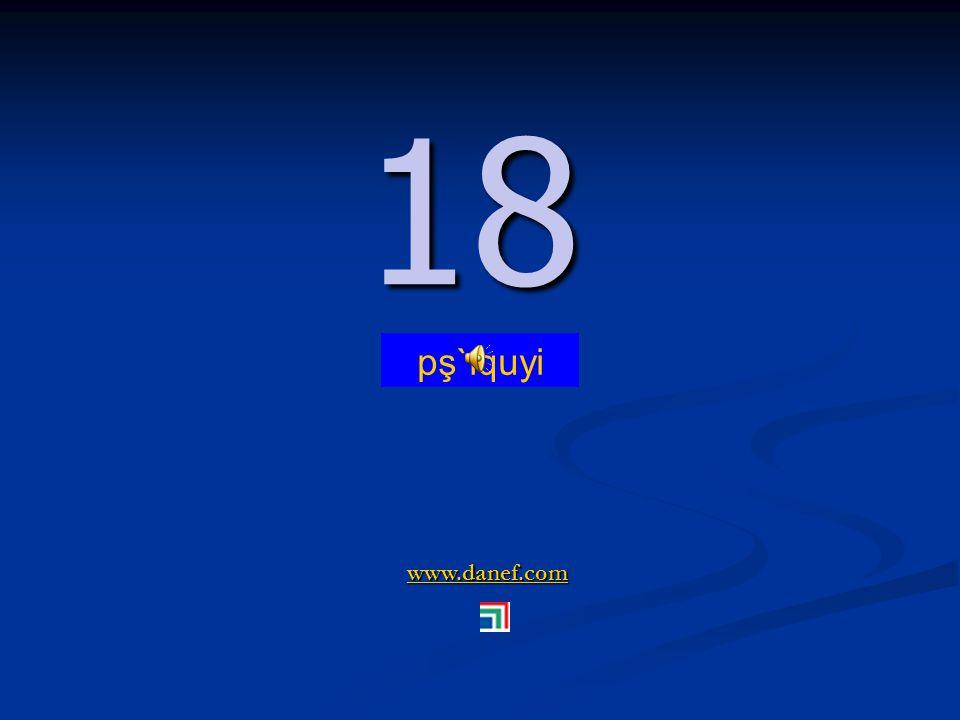 www.danef.com 17 17 pş`ıqublı