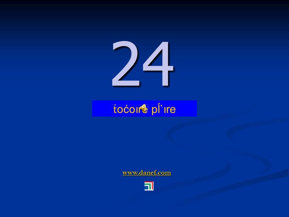 www.danef.com 23 23 ṫ oćoıre ş`ıre