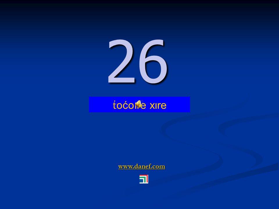 www.danef.com 25 25 ṫ oćoıre tfıre