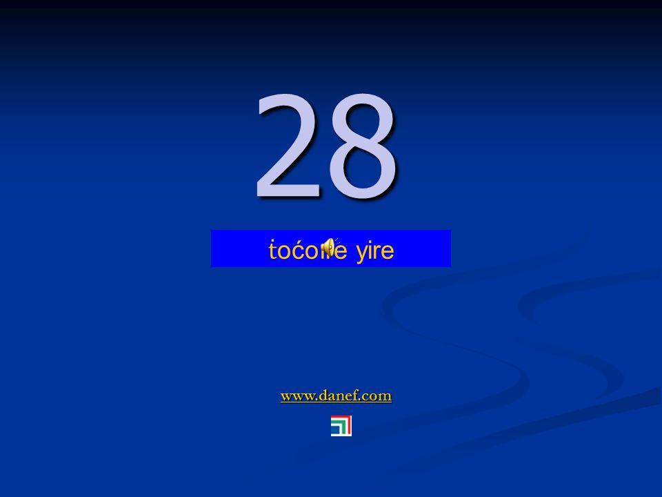 www.danef.com 27 27 ṫ oćoıre blıre