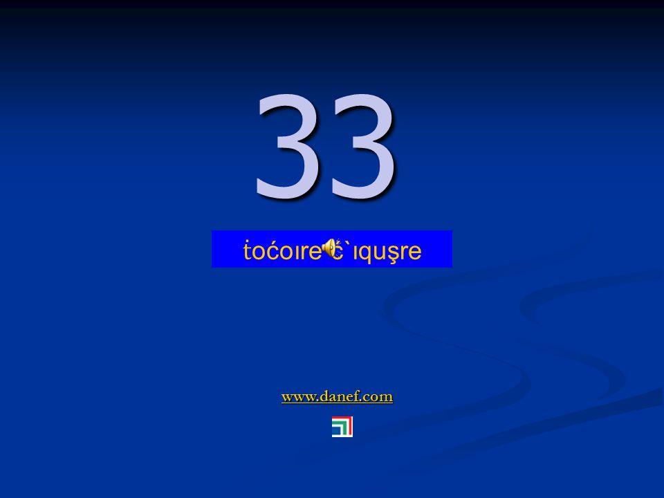 www.danef.com 32 32 ṫ oćoıre pş`ıqu ṫ `ure