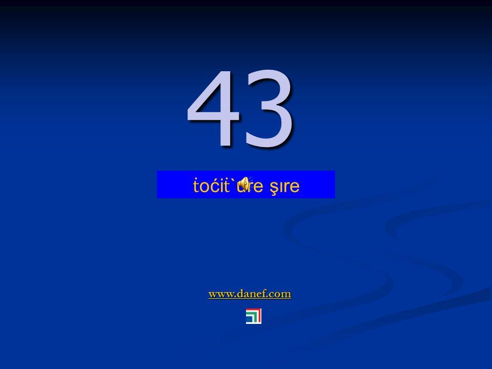 www.danef.com 42 42 ṫ oći ṫ `ure ṫ `ure