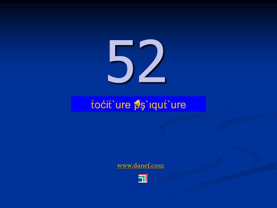 www.danef.com 51 51 ṫ oći ṫ `ure pş`ıquzıre