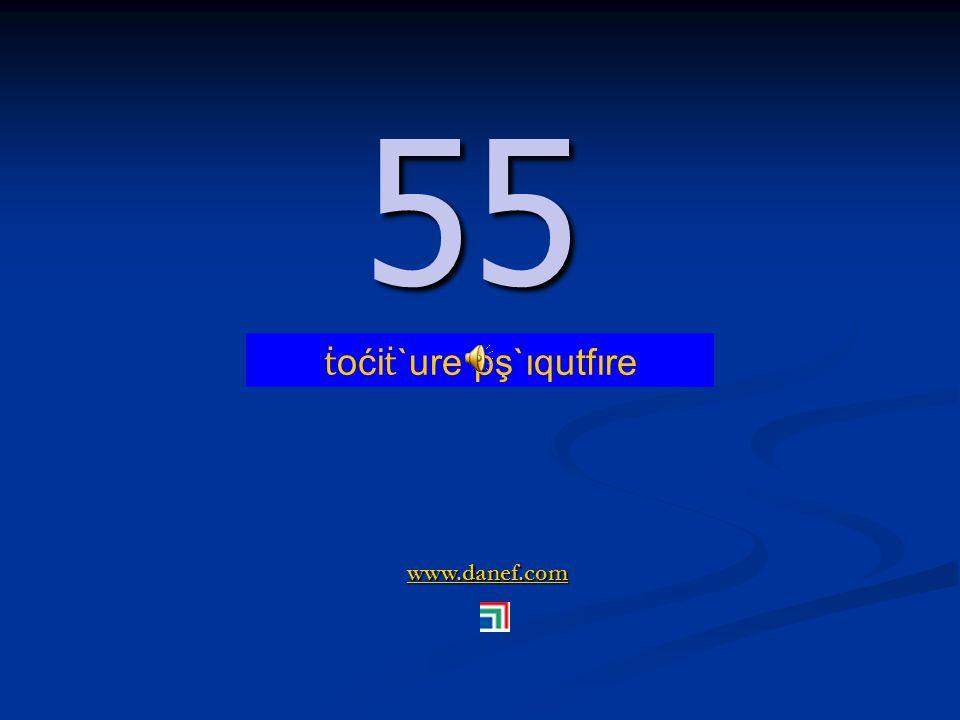 www.danef.com 54 54 ṫ oći ṫ `ure pş`ıqupĺ`ıre