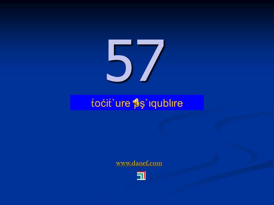 www.danef.com 56 56 ṫ oći ṫ `ure pş`ıquxıre