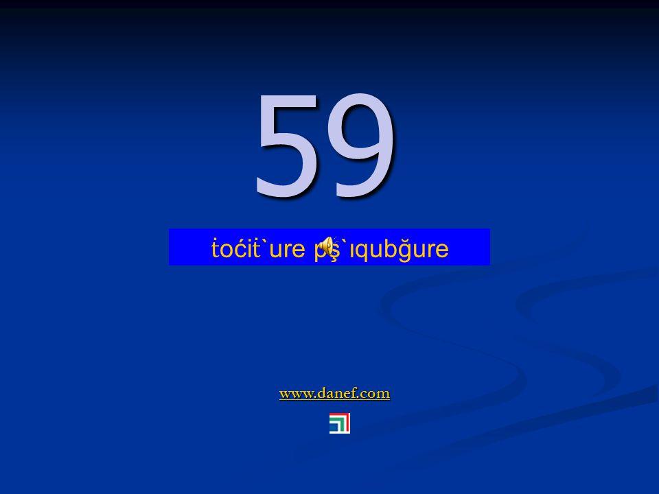 www.danef.com 58 58 ṫ oći ṫ `ure pş`ıquyire