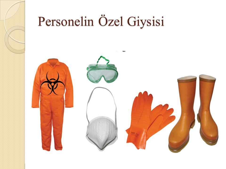 Personelin Özel Giysisi