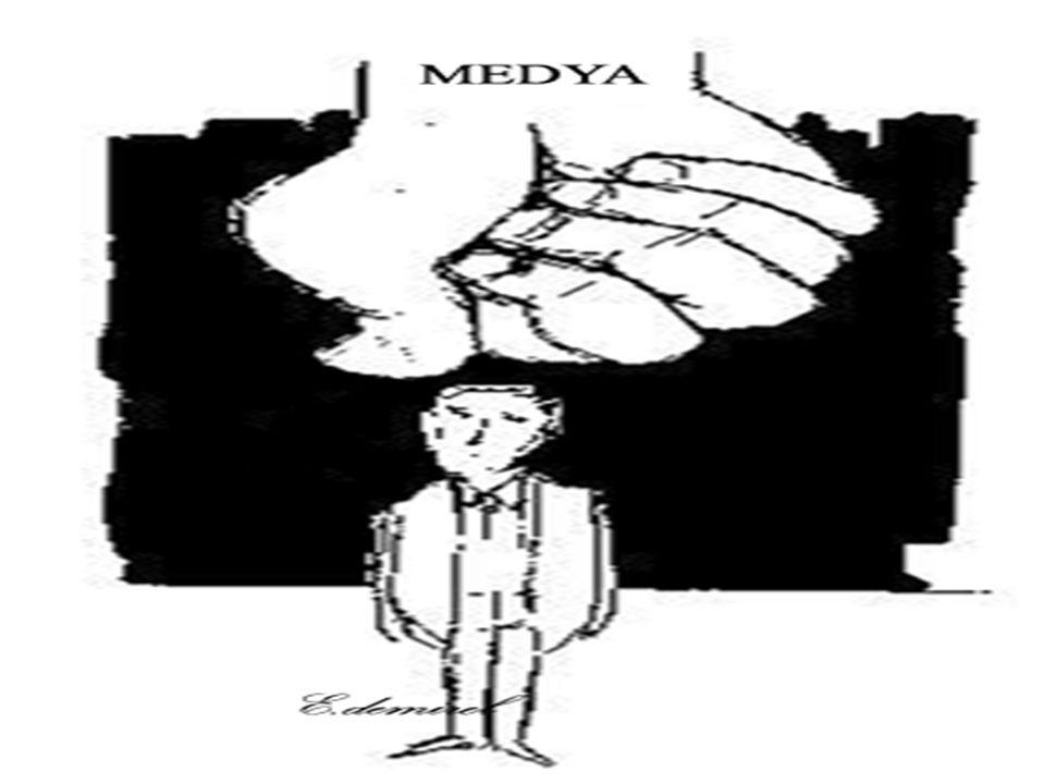 Medya(4.Kuvvet !!!) 1980 Darbesi / Depolitizasyon Süreci 1983 Özal İktidarı / Neo-Liberal Politikaların Yükselişi ile yükselen Yeni Değerler Cilalı İmaj Devri Tiraj-Raiting Canavarı (Sansasyonalizm, şiddet, vahşet, kamu yararı yerine kamu merakı odaklı habercilik) Medya mülkiyet yapısının değişimi, medya-siyaset-büyük sermaye ilişkileri, gazeteci ve gazeteciliğin geçirdiği metamorfoz, İletişim Haklarından ifade özgürlüğü, katılım hakkı, kültürel çeşitlilik ve dahil olma hakkı, medyada farklı grupların temsilinin göz ardı edilmesi, medyanın ötekileştirme gücü En çok etkilenen kesim;kadın, çocuk, etnik azınlıklar, lgbtt
