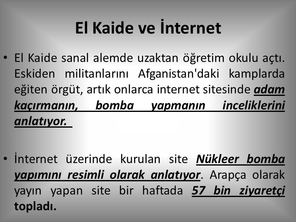 El Kaide ve İnternet El Kaide sanal alemde uzaktan öğretim okulu açtı.
