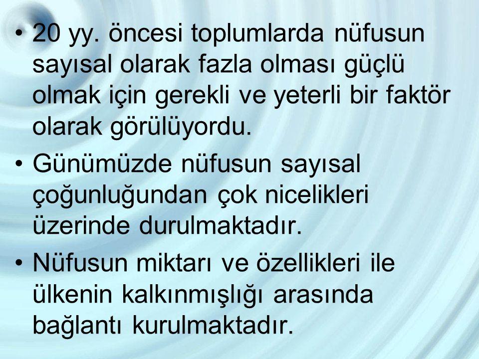 Atatürk, 1920 yılında yaptığı bir konuşmada, Milletimizin sıhhatinin muhafaza ve takviyesi, ölümlerin azaltılması, nüfusun artırılması, bu suretle efradı milletin dinç, çalışkan ve kabiliyetli bir halde yetiştirilmesi lazımdır. demiştir