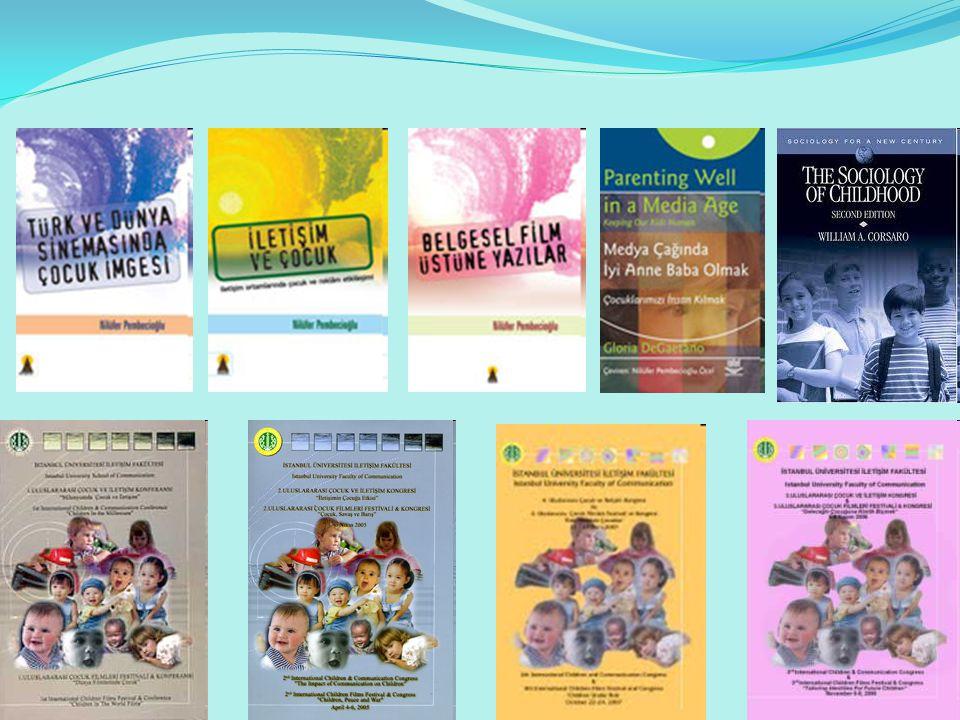 Nasıl Bir İletişim Radyoda Çocuklara Yönelik Yayınların Oranı Düşük Televizyonda Çocuklara Yönelik Yayınların Oranı Düşük Çocuk Kanalı kavramını denetlemek, sorgulamak gerekli Sinemada Çocuklara Yönelik Filmler Tartışmalı Yazılı Basında Çocuklara Yönelik Yayınların Oranı Düşük Yazılı Basında Çocuklarla İlgili Haberler Sorunlu İnternette Çocukların görünmezliği, pek çok sorunu beraberinde getirmekte Koruyucu yasalar ne derece koruyucu?