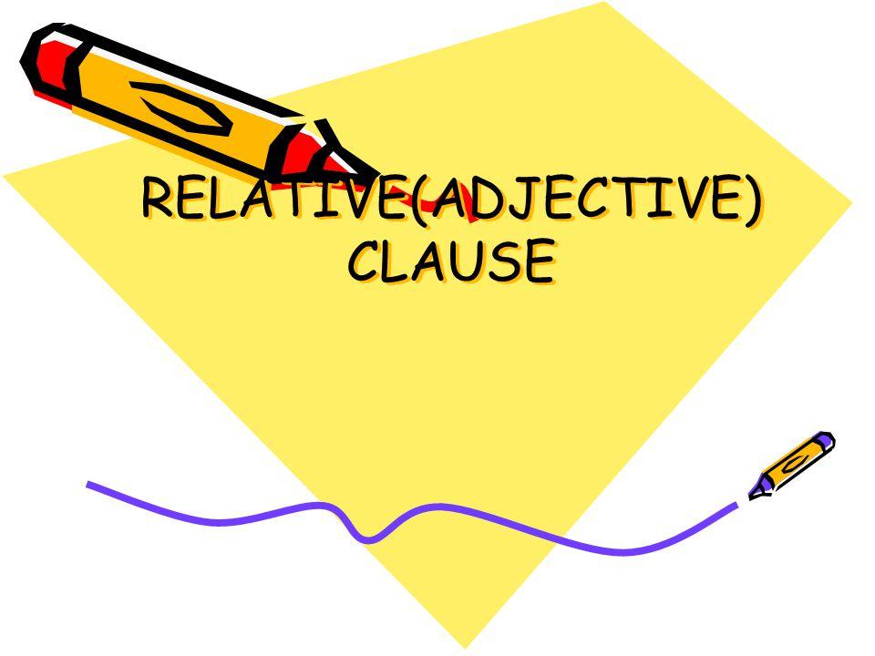  Bir relative clause u kısaltabilmemiz için who, that, which sözcüklerinin relative clause'da özne durumda bulunması gerekir.