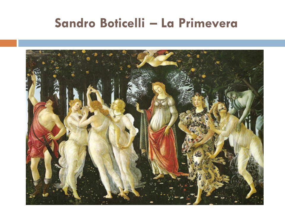 Sandro Boticelli – La Primevera