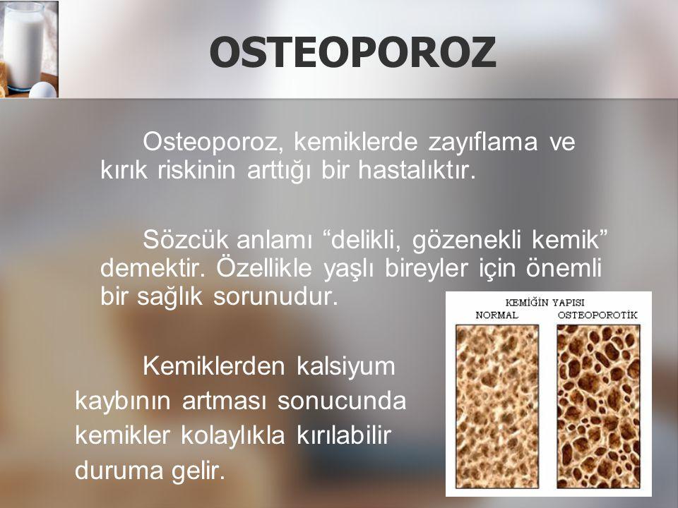Osteoporoz için risk faktörleri nelerdir.