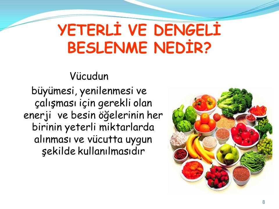 Sodyum İçeriği Düşük Besinler Sebze ve meyveler genel olarak tuz içeriği düşük besinlerdir.
