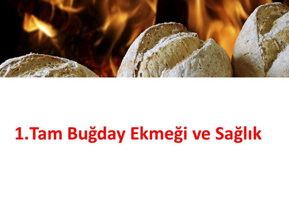 EKMEK ÇEŞİTLERİ Yulaflı ekmek Buğday ununa en az %15 oranında yulaf unu, yulaf kırması, yulaf kırığı, yulaf ezmesi veya bunların karışımı ilave edilip tekniğine uygun olarak üretilen ekmek çeşididir.