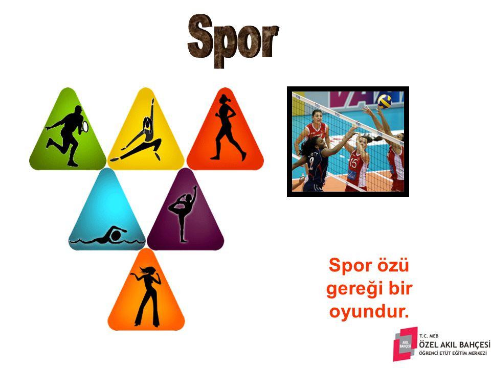 Spor, bireyin topluma uyumunu sağlamakta, kişilerin ruh ve beden sağlıklarını güvence altına almaktadır.