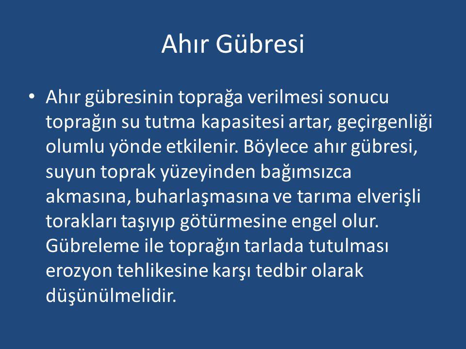 Solucan Gübresi