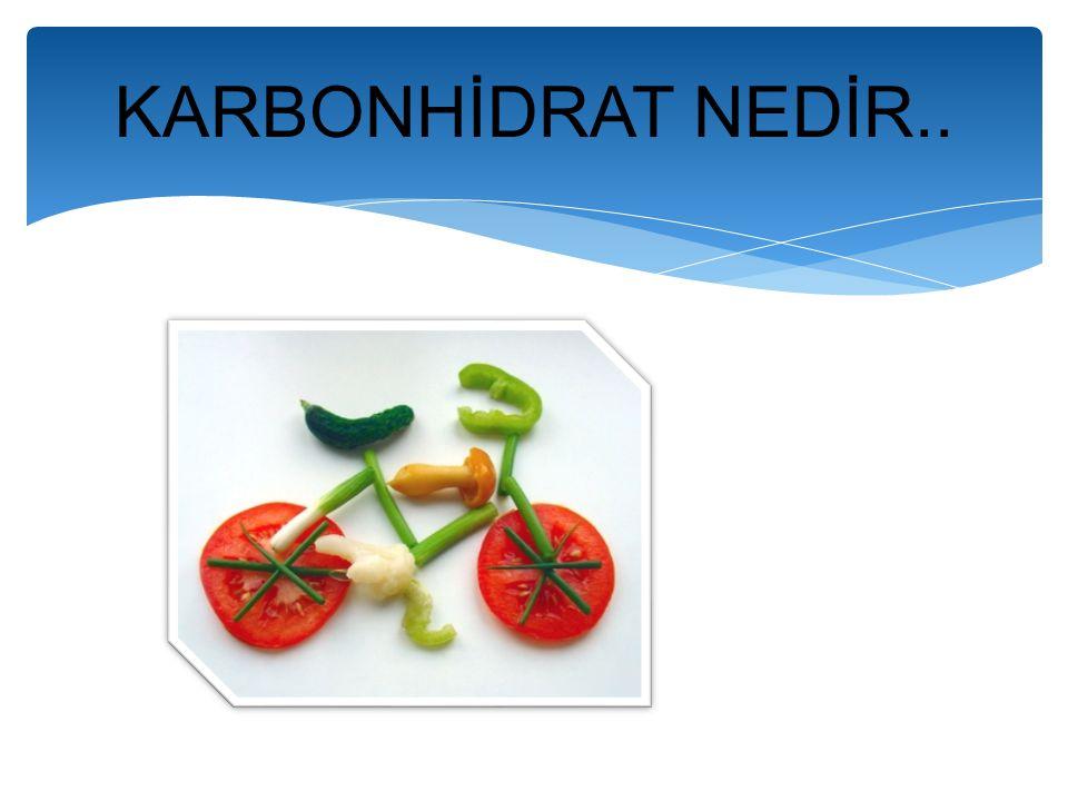 KARBONHİDRAT NEDİR..