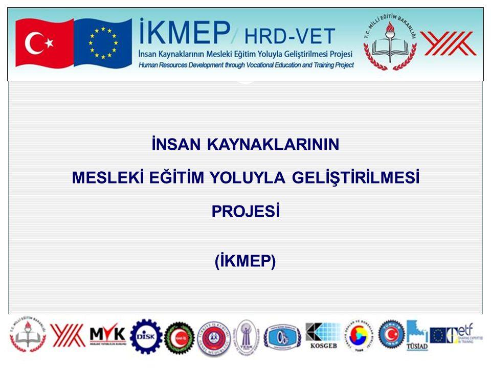İKMEP ÇALIŞMASINDA HAZIRLANAN MESLEK ANALİZLERİ SEKTÖRALAN 5.