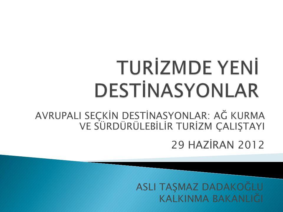 Ankara Kalkınma Ajansı Turizm Potansiyelinin Harekete Geçirilmesi Mali Destek Prog.