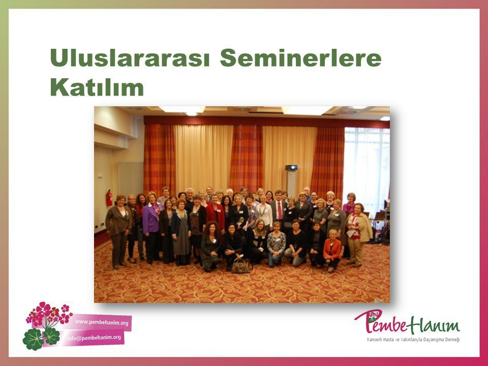 2011-2012 Faaliyet Özel ve devlet hastanelerinde kemoterapi ziyaretleri Türkiye'de bir ilk Kemoterapi ziyaretlerinde hastalara moral destek ve su dağıtımı 24 -27 Mayıs 2011 AB Komisyonu Kanser ligi kanserli hasta dernekleri koalisyonu STKlar toplantısına katıldık