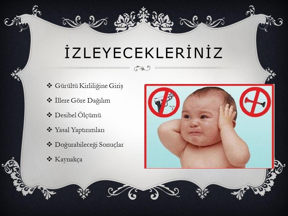  Türk aile yapısının geniş olmasının gürültüyü artırdığını, bunun normal hayata da yansıdığını anlatan Prof.
