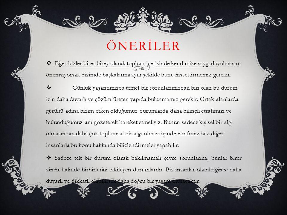 TÜRKİYE'DE 2012 YILI GÜRÜLTÜ DENETİMİ  Türkiye genelinde gürültü denetimlerini sıklaştıran Çevre ve Şehircilik Bakanlığı, 81 ilde bin 409 denetim yaptı.