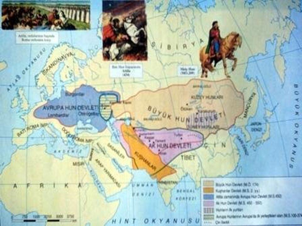 Hun İmparatorluğu, Hunlar ın imparatorluğu.