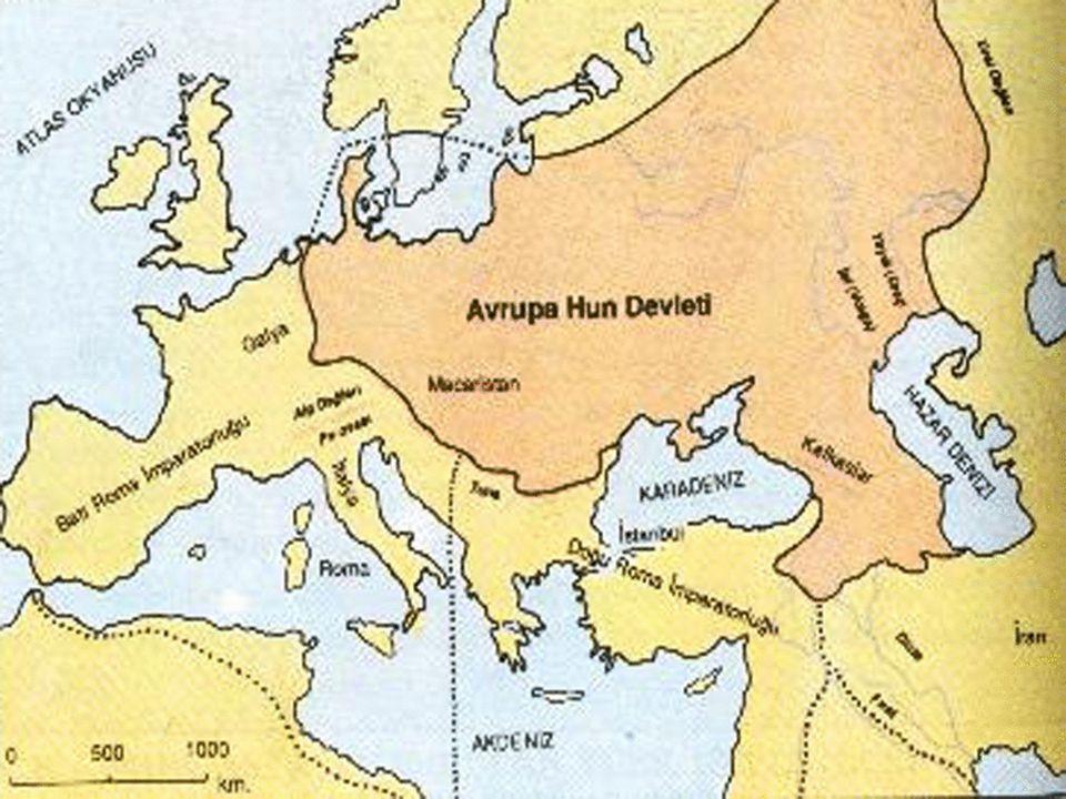 Rua Dönemi 412-422 yılları arasında Avrupa Hun Devleti ile ilgili fazla bir bilgiye rastlanmamaktadır.