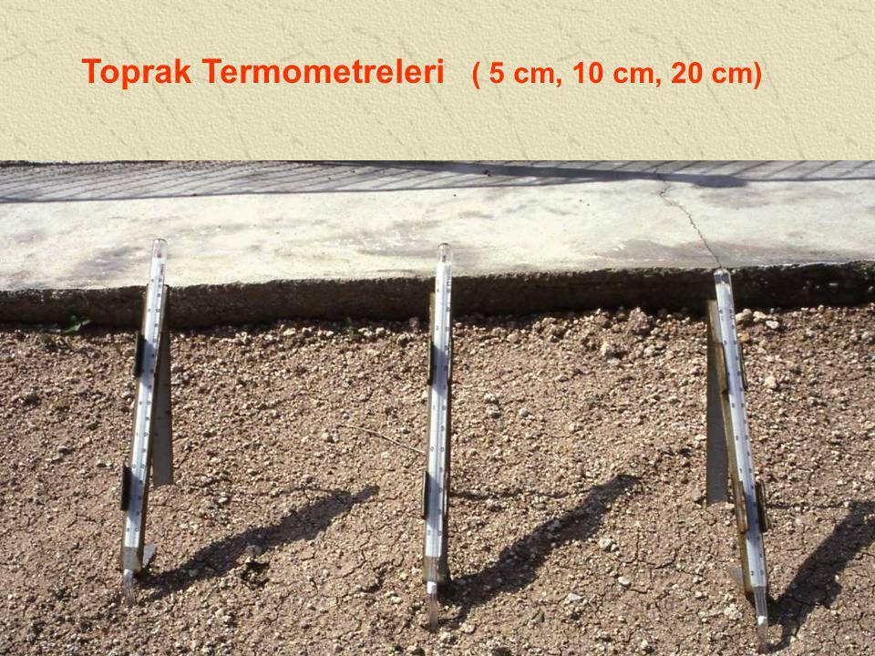 Toprak Termometreleri ( 5 cm, 10 cm, 20 cm)