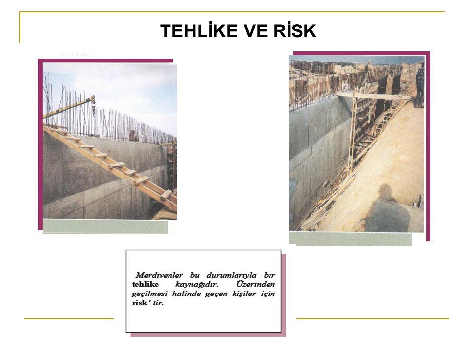 Risk-tehlike tanımı çalışmaları sırasında en önemli başvuru kaynağı ise bizzat işi yapan işçiler, ustalar, ustabaşları ve teknik personellerdir.