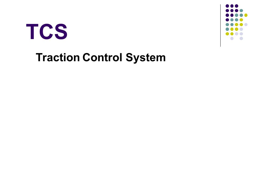 TCS Traction Control System