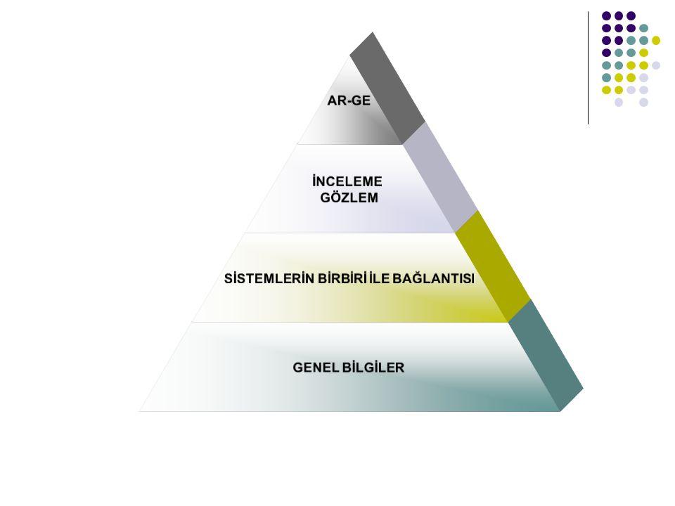 AR-GE İNCELEME GÖZLEM SİSTEMLERİN BİRBİRİ İLE BAĞLANTISI GENEL BİLGİLER