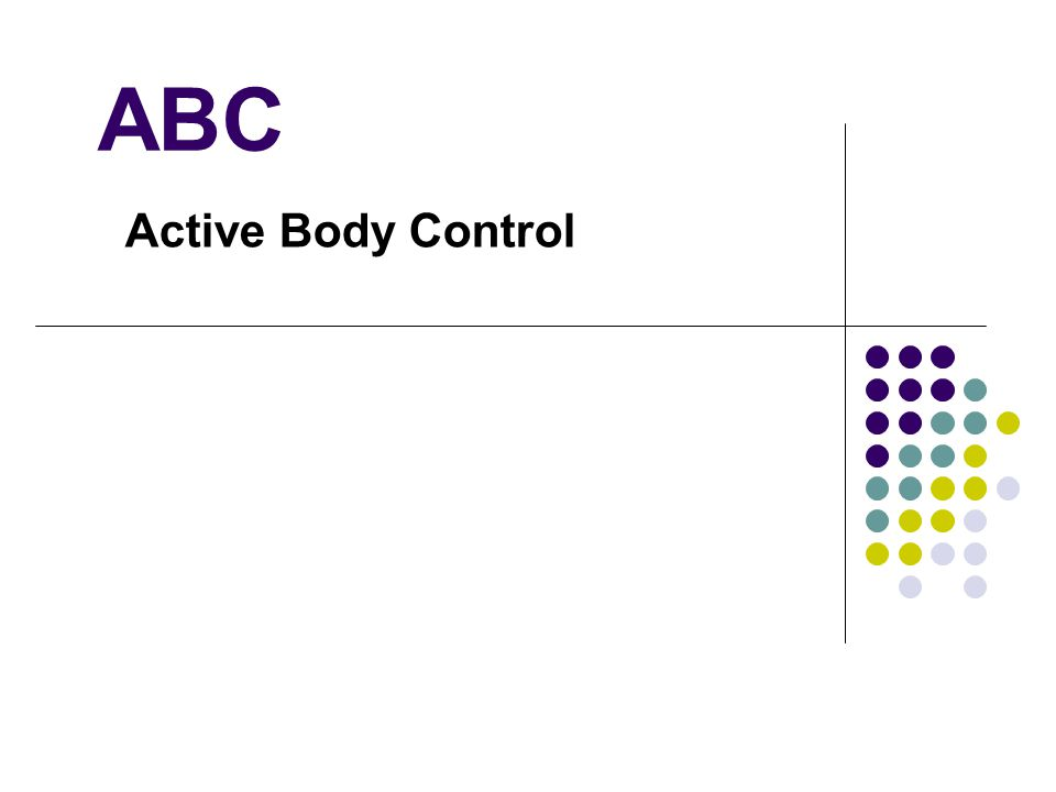 ABC Active Body Control