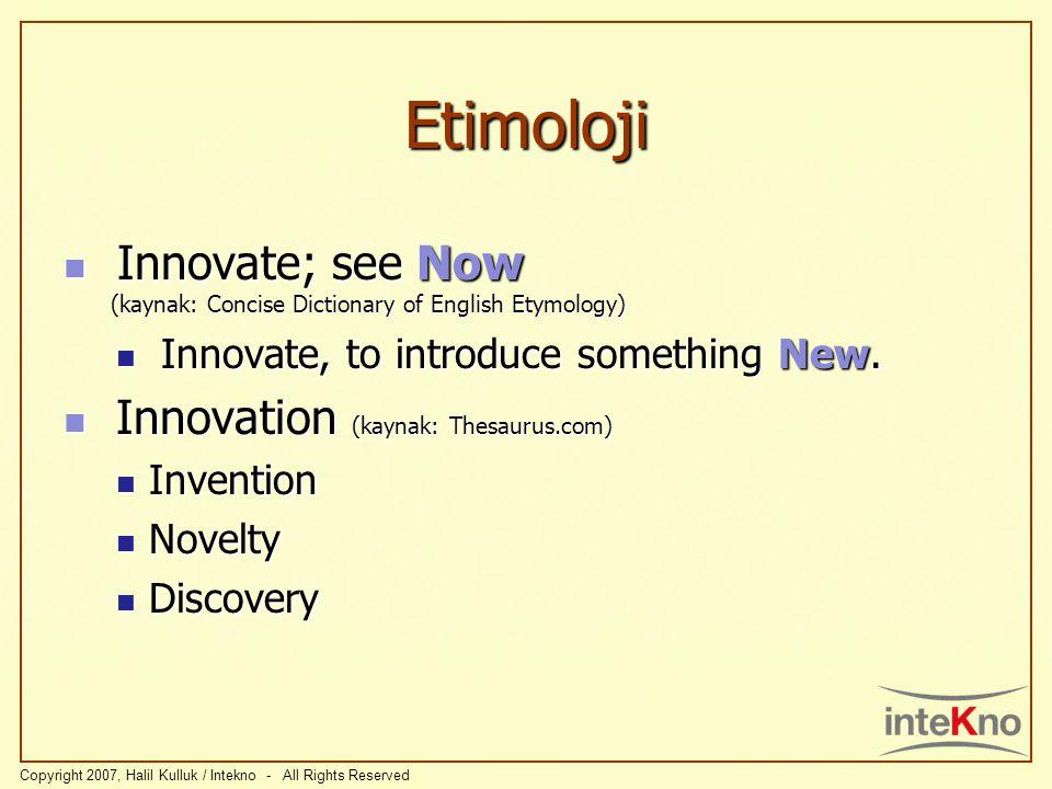 Etimoloji Y Ş Yenişim İ E N İ Ş İ M D İ