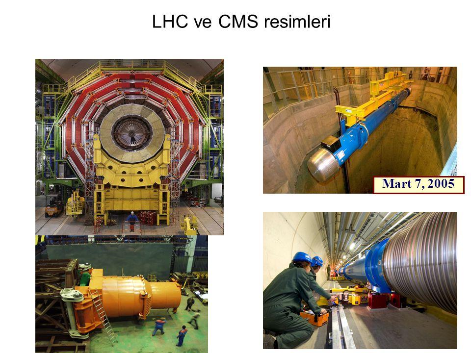 41 LHC ve CMS resimleri  Mart 7, 2005