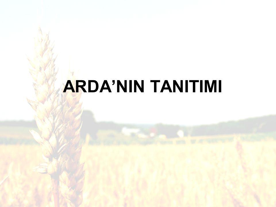 ARDA'NIN TANITIMI