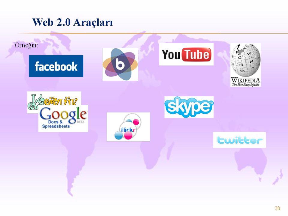 38 Web 2.0 Araçları