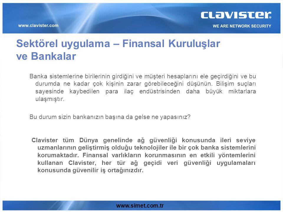 www.simet.com.tr Banka sistemlerine birilerinin girdiğini ve müşteri hesaplarını ele geçirdiğini ve bu durumda ne kadar çok kişinin zarar görebileceğini düşünün.