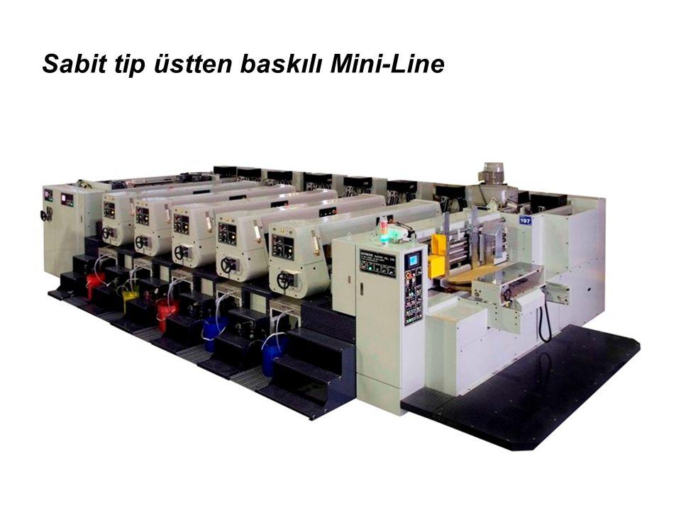 Sabit tip üstten baskılı Mini-Line