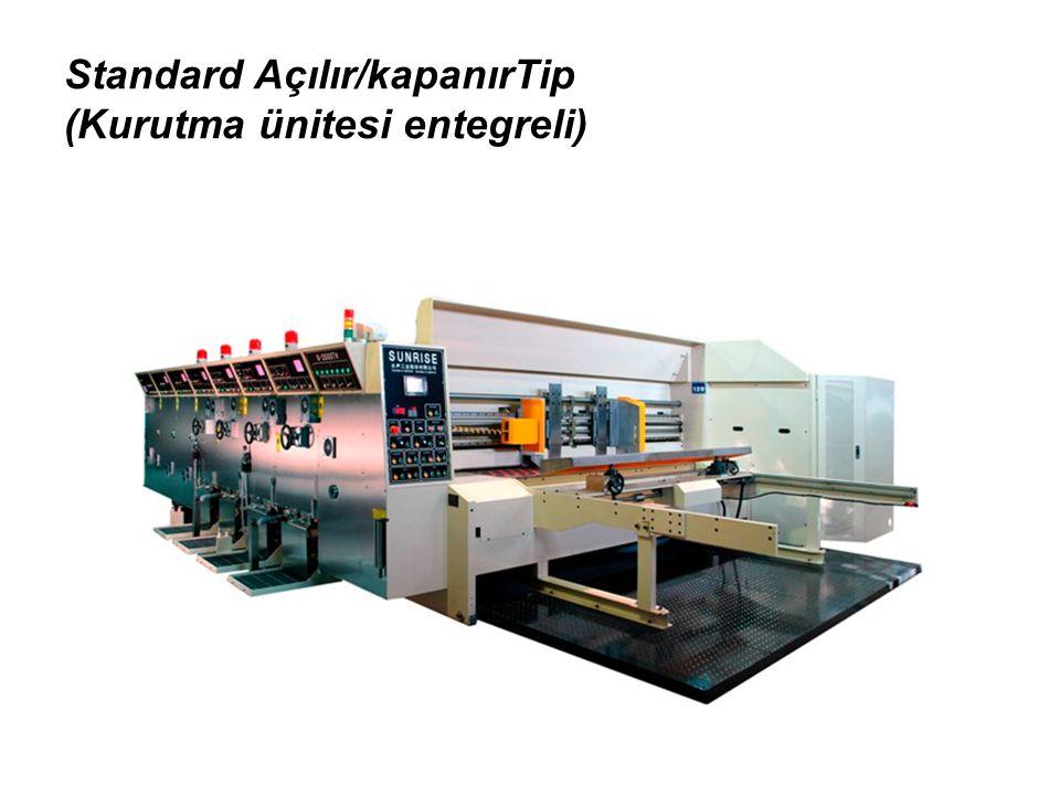 Standard Açılır/kapanırTip (Kurutma ünitesi entegreli)