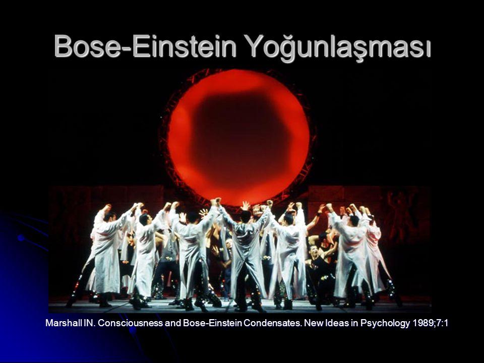 Bose-Einstein Yoğunlaşması Marshall IN.Consciousness and Bose-Einstein Condensates.