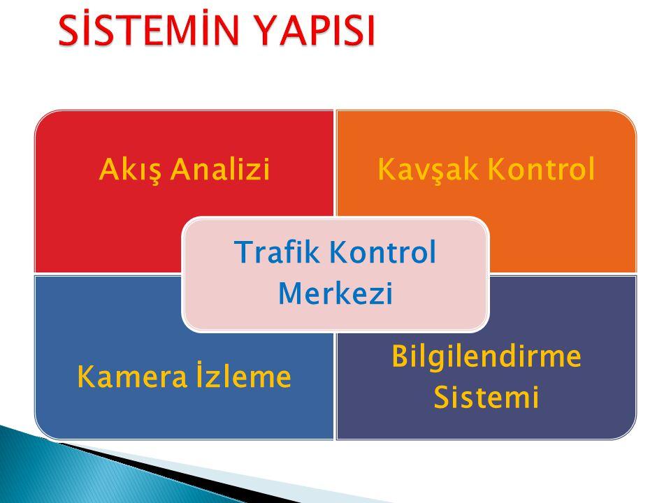 Akış AnaliziKavşak Kontrol Kamera İzleme Bilgilendirme Sistemi Trafik Kontrol Merkezi