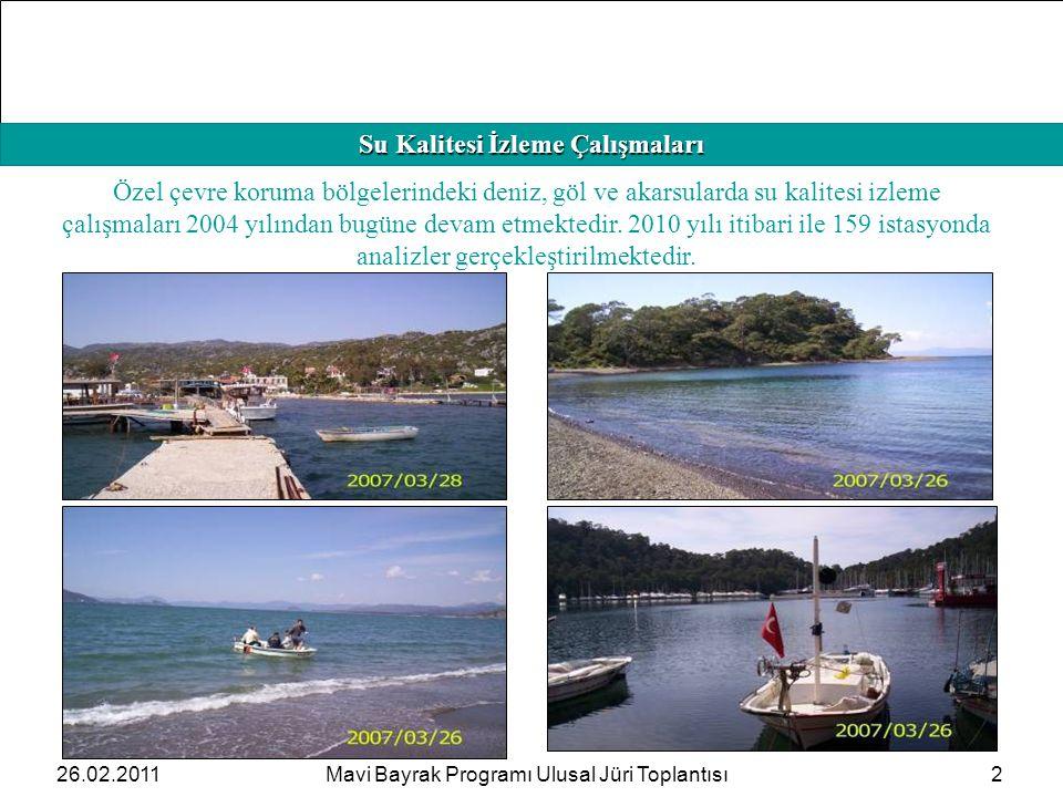 HAFIZAMIZI TAZELEYELİM Su Kalitesi İzleme Çalışmaları 2 Özel çevre koruma bölgelerindeki deniz, göl ve akarsularda su kalitesi izleme çalışmaları 2004